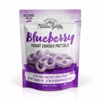 Nature's Garden Blueberry Yogurt Covered Pretzels - 7 oz. Bag