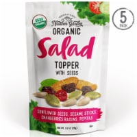Nature's Garden Organic Seeds Salad Topper 3.5 oz (Pack of 5) - 5 Pack (3.5 oz. Bags)