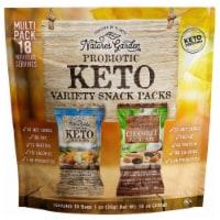 Nature's Garden Probiotic Keto Variety Snack Packs 1 oz (Pack of 18)