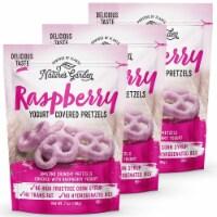 Nature's Garden Raspberry Yogurt Covered Pretzels - 3-Pack (7 oz. Bags)