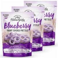 Nature's Garden Blueberry Yogurt Covered Pretzels - 3 Pack (7 oz. Bags)