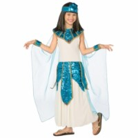 Costumes For All Occasions LF3160CMD Cleopatra Child 8-10 - Blue-Gold