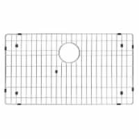 Kraus KBG-100-30 Stainless Steel Bottom Grid with Protective Anti-Scratch Bumpers for Kitchen
