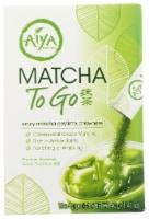 Aiya Matcha To Go Sticks - 10 ct