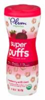 Plum Organics Strawberry & Beet Super Puffs