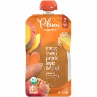 Plum Organics Fruit and Grain Sweet Potato Mango & Millet Stage 2 Pouch