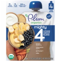 Plum Organics Mighty 4 Tots Baby Food