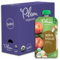 Plum Organics Apple & Broccoli Stage 2 Baby Food