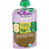 Plum Organics Mighty 4 Spinach Kiwi Barley Tot Snack