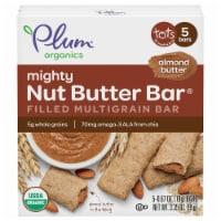 Plum Organics Almond Butter Mighty Nut Butter Bar Filled Multigrain Bar
