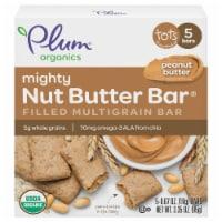 Plum Organics Peanut Butter Mighty Nut Butter Bar 5 Count