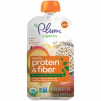Plum Organics Mango Banana Bean Mighty Protein & Fiber Tot Snack