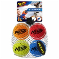NERF DOG BALL Twin Pack