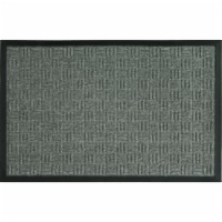 Sports Licensing Solutions 262372 18 x 30 in. Parquet Mat, Gray - 1