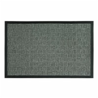 Sports Licensing Solutions 262374 24 x 36 in. Parquet Mat, Gray - 1