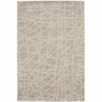 Due Process Stable Trading WMA Gerard Bisque Area Rug, 4 x 6 ft.