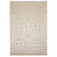 Due Process Stable Trading WMA Mojito Ivory Area Rug, 6 x 9 ft. - 1