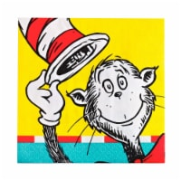 BirthdayExpress 233218 Dr. Seuss Beverage Napkins - 20 Piece
