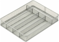 Honey Can Do Steel Mesh Cutlery Tray - Silver - 1 ct