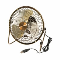 Honey-Can-Do OFC-04475 USB Powered Desk Fan (Bronze) - 1