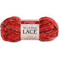 Premier Yarns Wool-Free Lace Yarn-Red Hot - 1