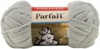 Premier Yarns Parfait Solid Chenille Yarn-Pale Gray - 1