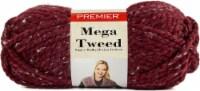 Premier Yarns Mega Tweed Yarn-Merlot Tweed - 1