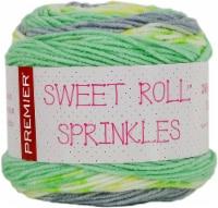 Premier Yarns Sweet Roll Sprinkes Yarn-Mint Sprinkles - 1