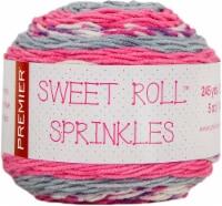 Premier Yarns Sweet Roll Sprinkes Yarn-Bubblegum Sprinkles - 1