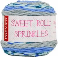Premier Yarns Sweet Roll Sprinkes Yarn-Periwinkle Sprinkles - 1