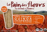 Le Pain des fleurs  Organic Crispbread Gluten Free   Quinoa