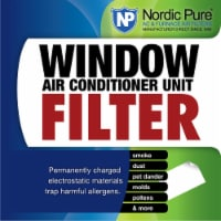 Nordic Pure 15x24 AA LPD 15 x 24 in. Window Air Conditioner Unit Filter - 1