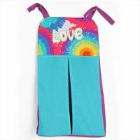 One Grace Place 10-34031 Terrific Tie Dye Diaper Stacker