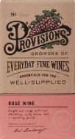 Provisions Wine Rose