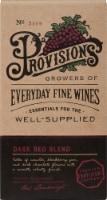 Provisions Dark Red Blend