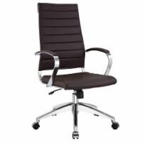 Jive Highback Office Chair, EEI-272-BRN - 1 unit