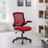 Red Veer Mesh Office Chair