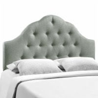 Sovereign Full Upholstered Fabric Headboard - Gray - 1
