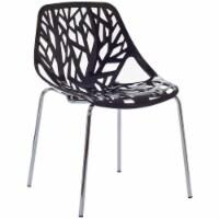 Stencil Dining Side Chair - Black - 1