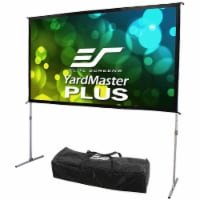 Elite OMS120H2PLUS Yard Master Plus 120 inch Manual Projection Screen - 1