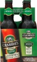 Crabbie's Original Alcoholic Ginger Beer - 4 bottles / 11.2 fl oz
