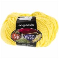 Mary Maxim Ultra Mellowspun Yarn-Bright Yellow - 1