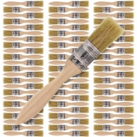 72 Pack of 1 inch Paint and Chip Paint Brushes for Paint, Stains, Varnishes, Glues, and Gesso - 1 inch - 72 Pack