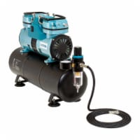 1/4 HP Twin Cylinder Piston Air Compressor with Extra Large Storage Tank - Compressor