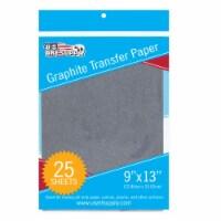 "9  X 13  Graphite Transfer Paper - 25 Sheets - 9"" X 13"" - 25 Sheets"