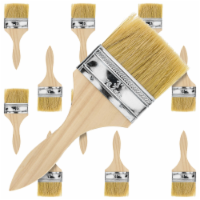 12 Pack of 3 inch Paint and Chip Paint Brushes for Paint, Stains, Varnishes, Glues, and Gesso - 3 Inch - 12 Pack