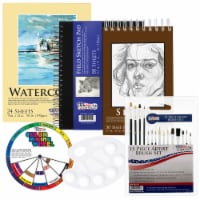 20 Piece Drawing, Sketch and Painting - Paper and Brush Accessory Pack - 20 Piece Accessory Pack