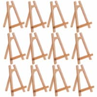 """10.5  Small Tabletop Display Stand A-Frame Artist Easel, 12 Pack - Portable Desktop Easel - 10.5"""" - 12 Pack"""