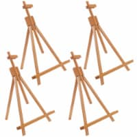 "Topanga 31  High Tabletop Wood Folding A-Frame Artist Studio Easel (4 Pack) - Adjustable - 31"" - 4 Pack"