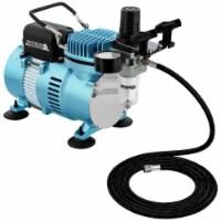 1/5 HP Dual Fan Air Compressor Kit Model TC-320 - Single-Piston with 2 Cooling Fans - Compressor